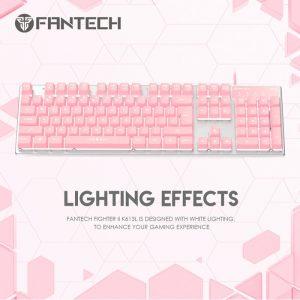 fantech-k613l-fighter-ii-gaming-keyboard-pink-sakura-edition