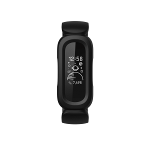 fitbit ace 3 black red